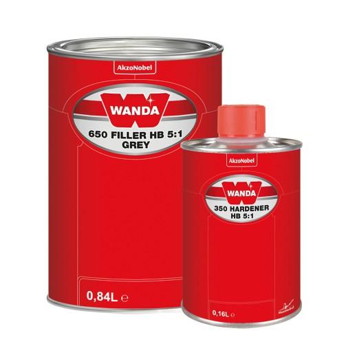 Wanda Грунт-наполнитель 5:1 650 FIL (комплект 0,8л + 0,2л)