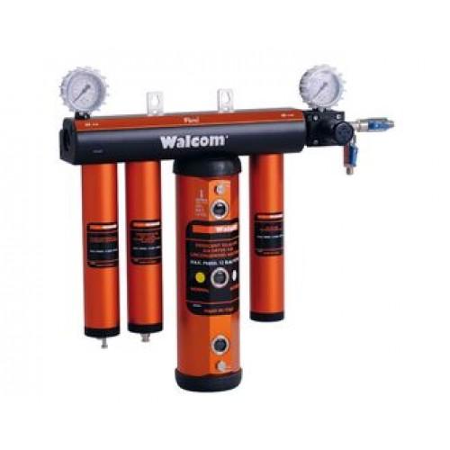 Модульная фильтр-группа для очистки сжатого воздуха Walcom FSRD 3 60123/11