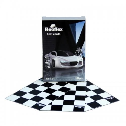 Тест-карты Reoflex уп. 50шт, RX N-01