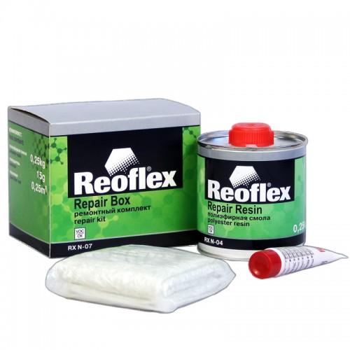 Рем.комплект Reoflex (смола 0,25кг+ стекломат 150 гр/1м.кв.+ отвердитель)