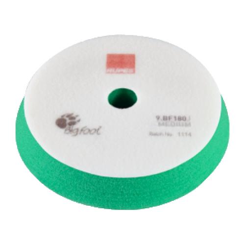 RUPES Полировальный круг поролоновый 150-180 мм (Cредней жёсткости, зеленый) для BigFoot LHR