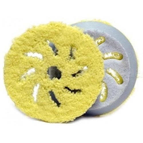 RUPES Полировальный круг микрофибровый 130-150 мм (финиш, желтый) для BigFoot