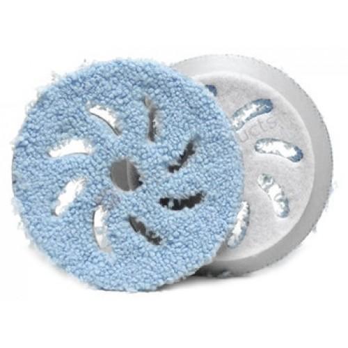 RUPES Полировальный круг микрофибровый 130-150 мм (Грубый, Голубой) для BigFoot