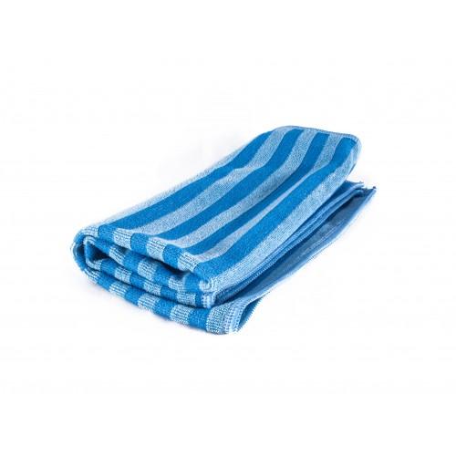 HANKO Голубая скраб-салфетка из микрофибры