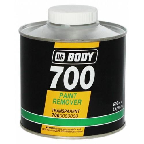 Удалитель краски BODY 700 (смывка), уп. 0,5 л