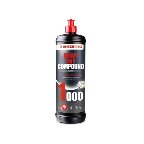 MENZERNA Полировальная паста Heavy Cut Compound 1000 (PG 1000), 1кг